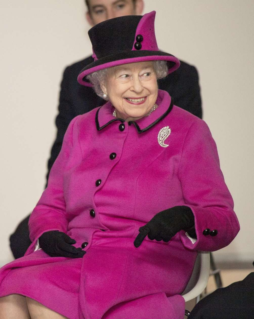 Queen Elizabeth II visits the
