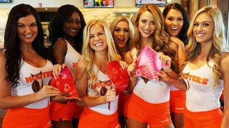 Hooters is celebrating Valentine's Day by offering free