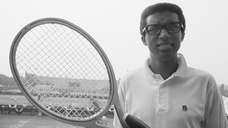 Arthur Ashe at Forest Hills, N.Y., on Aug.