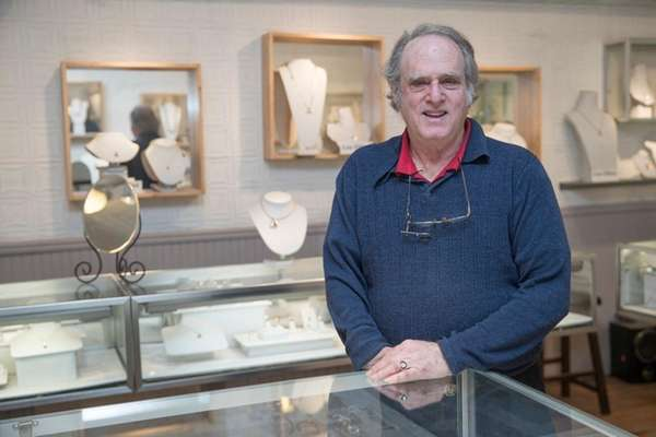 Lee Elliot, 70, owner of Lee Jewelers, in