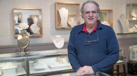 Lee Elliot, 70, owner of Lee Jewelers, in