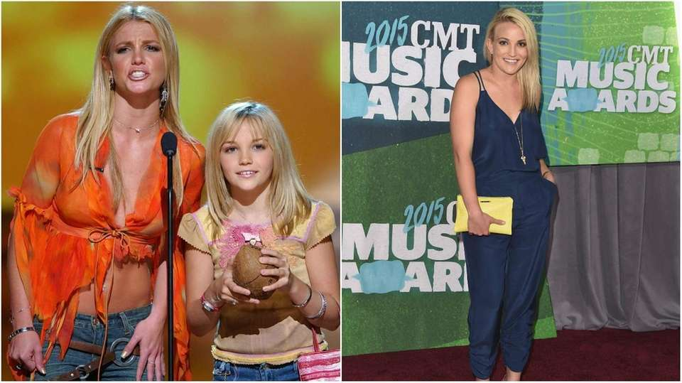 Jamie Lynn Spears, pictured in left photo with