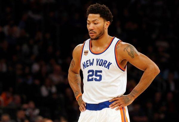 Derrick Rose, 25, of the New York Knicks
