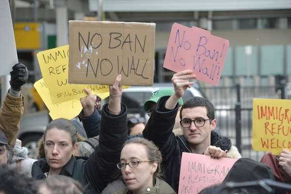 Students in New York City planned to protest