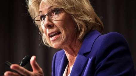 Betsy DeVos was nominated for education secretary by