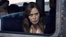 Emily Blunt is Rachel, a seemingly unstable alcoholic