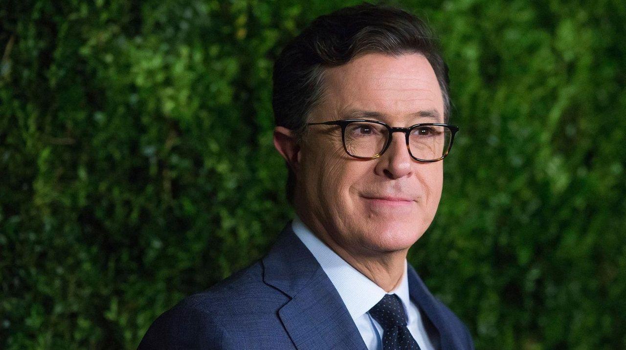 Stephen Colbert attends an event on Nov. 15,