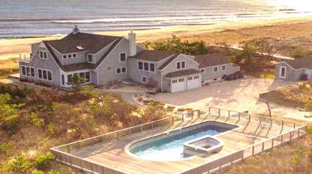This Amagansett home, listed for $8.75 million, appeared