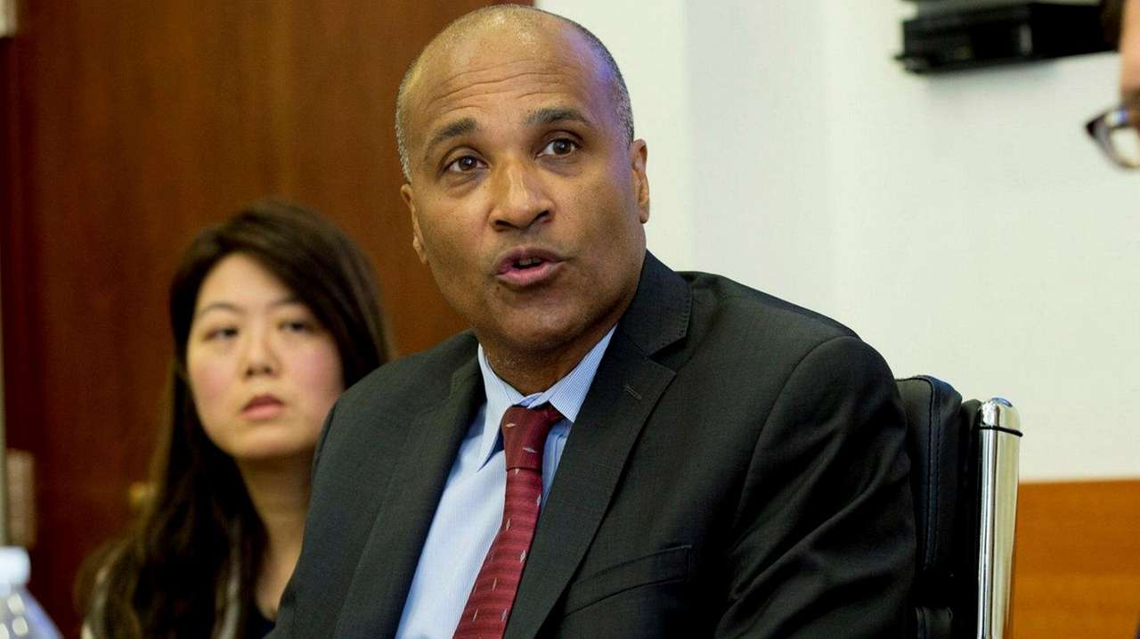 The NYPD's Inspector General Philip K. Eure is