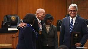 Hempstead officials hosted a celebration of of African-American history