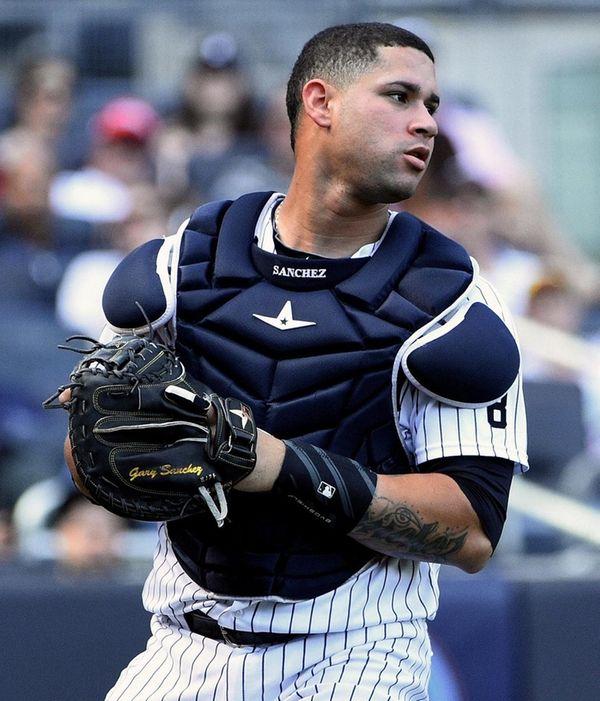 New York Yankees catcher Gary Sanchez hit 20