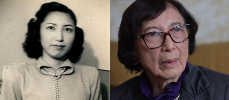 West Islip's Mitsue Salador Mitsue Salador, now 93,