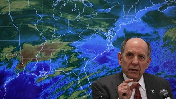 National Weather Service Director Louis W. Uccellini, a