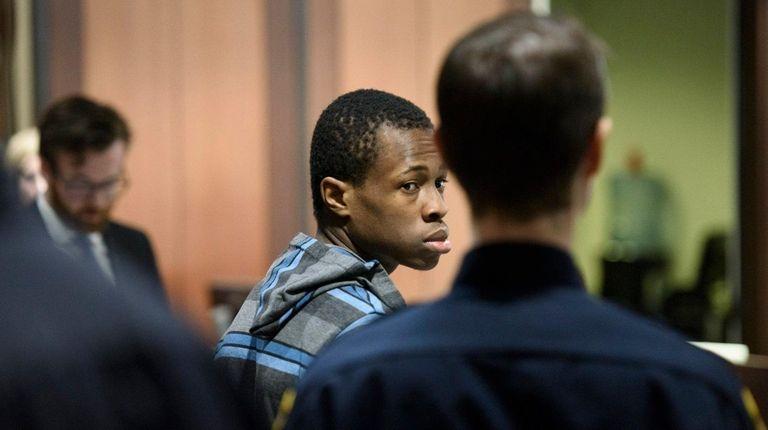 Chanel Lewis is arraigned in Queens Criminal Court