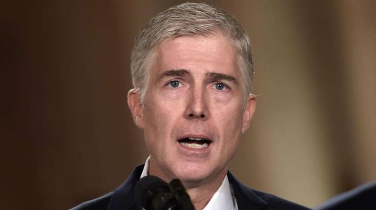Neil Gorsuch was selected by President Donald Trump