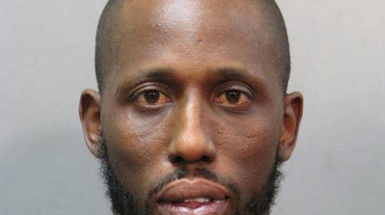 Hamilton Croft, 38, of Hewlett, was arrested on