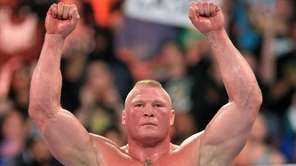Brock Lesnar will square off with Braun Strowman,