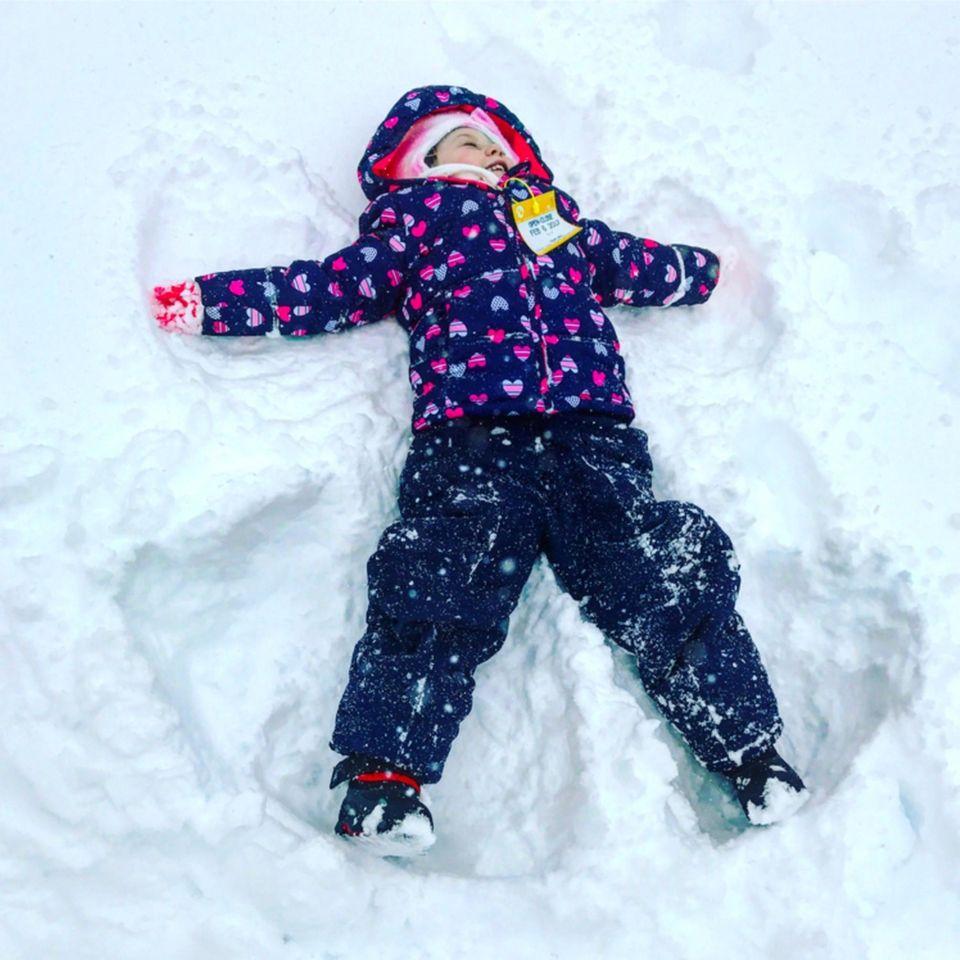 Catherine, the snow angel