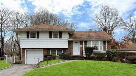 This split-level house, listed for $399,000 in February
