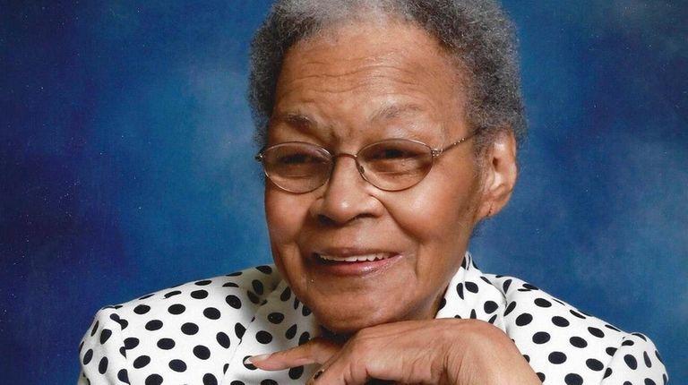 The Rev. Lillian Frier Webb, whose long career