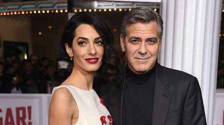 Amal and George Clooney are expecting twins in