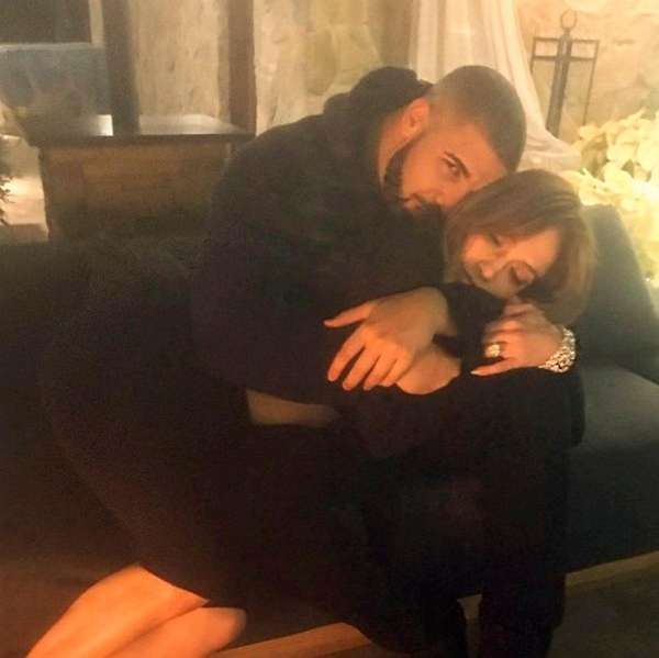 Drake posted this photo of himself with Jennifer