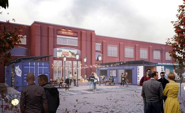 Rendering of Blue Point Brewing Co.'s planned relocation