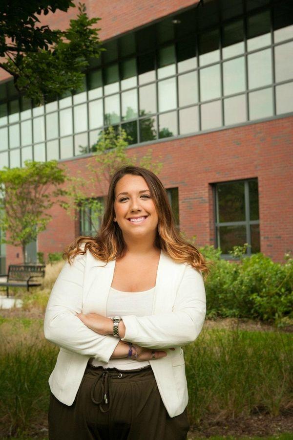 Lauren Liegmann, 22, of Massapequa, graduated from Farmingdale