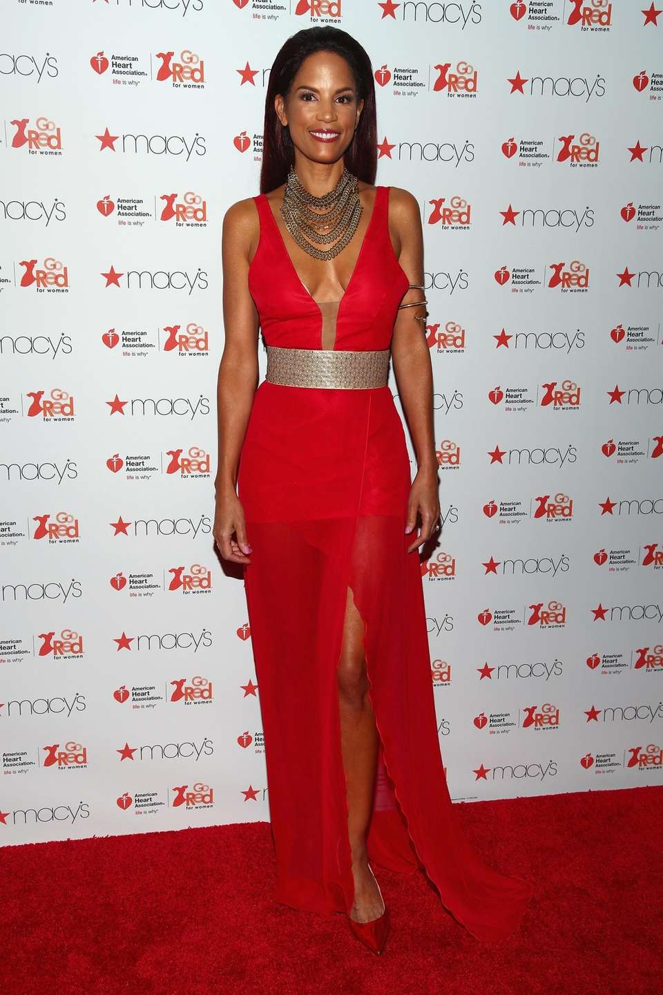 Model Veronica Webb attends the American Heart Association's