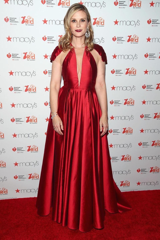 Actress Bonnie Somerville attends the American Heart Association