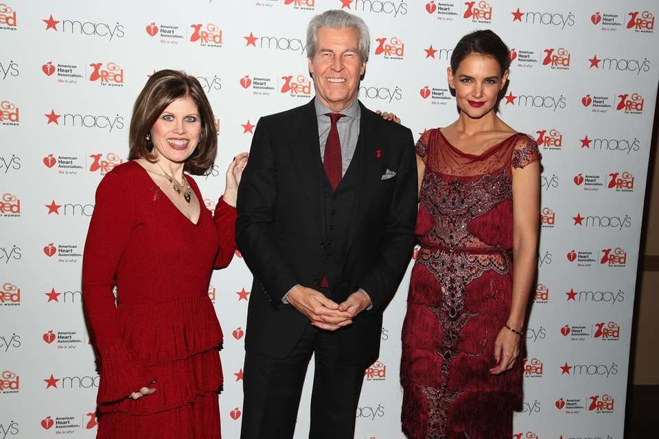 From left, American Heart Association CEO Nancy Brown;