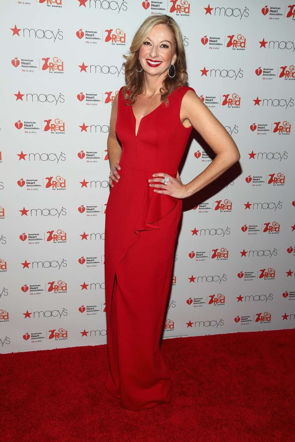 Nicole Hardy attends the American Heart Association's Go
