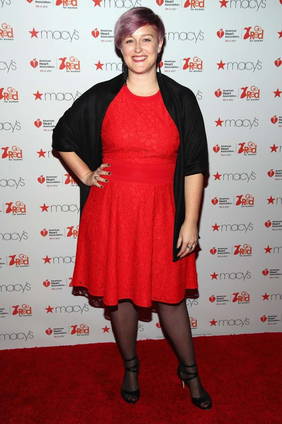 Designer Bethany Meuleners attends the American Heart Association's