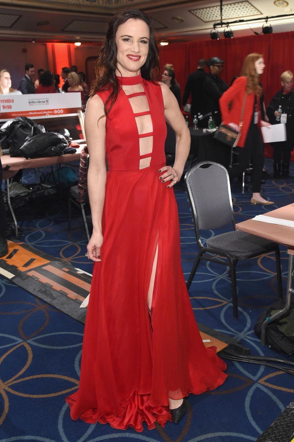 Juliette Lewis attends the American Heart Association show