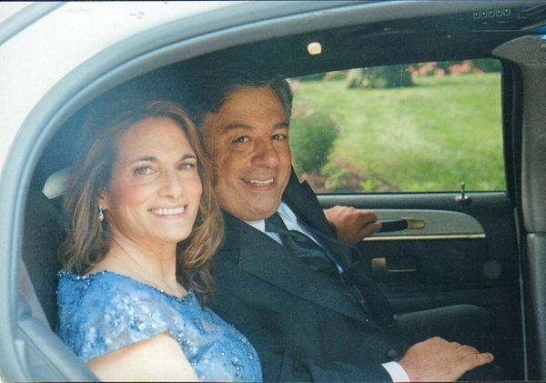 MaryLou and Sal Militello of Nesconset celebrated their