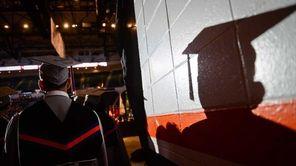Nassau Community College graduation at Nassau Coliseum in