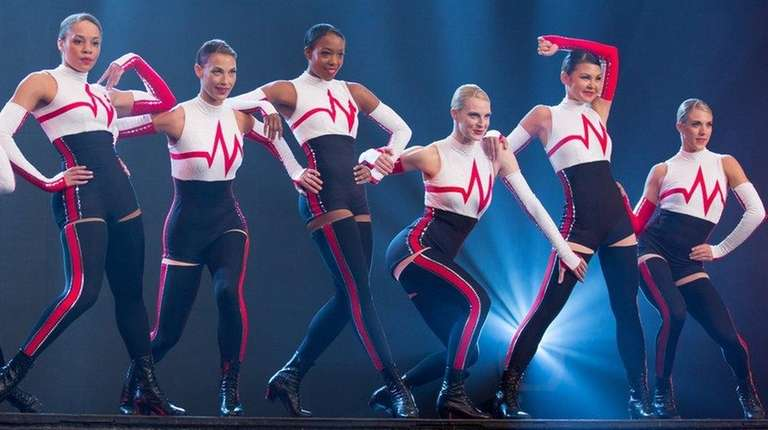 The Rockettes rehearse for the 2016 production, which