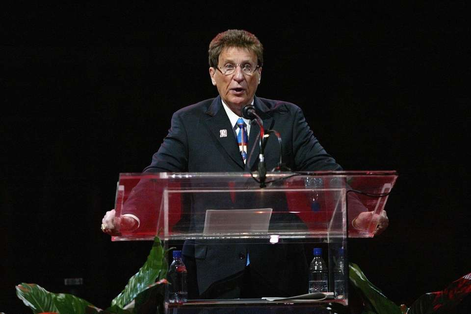 Mike Ilitch, owner of the Detroit Red Wings