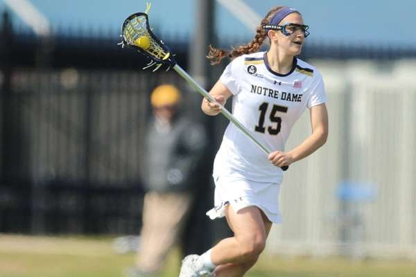 Notre Dame's Cortney Fortunato, who was nation's top