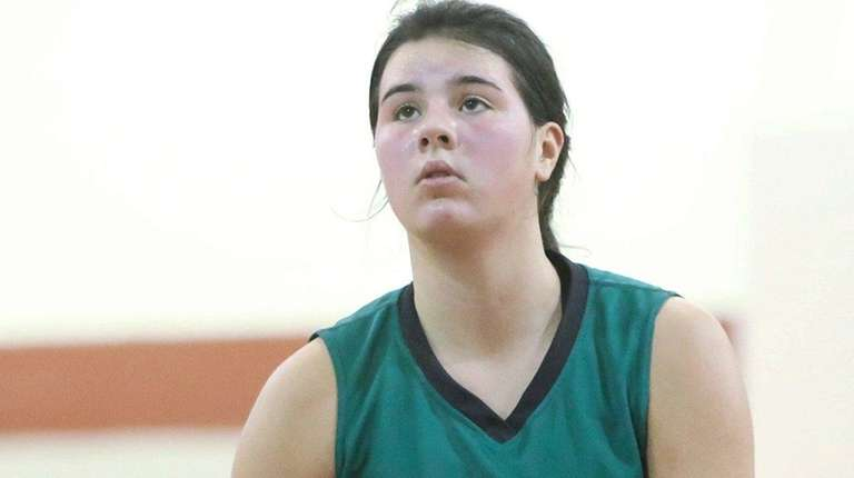 Lynbrook's Kerrin Montgomery shoots a free throw against