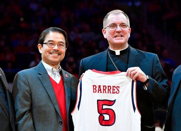 The Most Reverend John Oliver Barres the Bishop