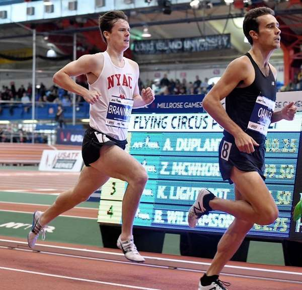 MikeyBrannigan of the NYAC finished seventh in the