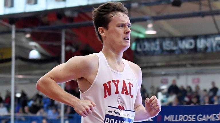 Mikey Brannigan of the NYAC finished seventh in the