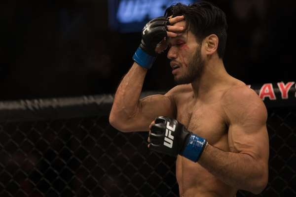 Featherweight Phillipe Nover, from Brooklyn, lost to Rick