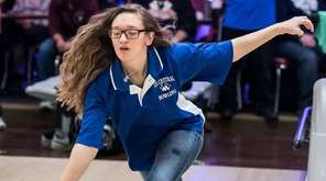 Valley Stream District's Alexa Messina shows her form