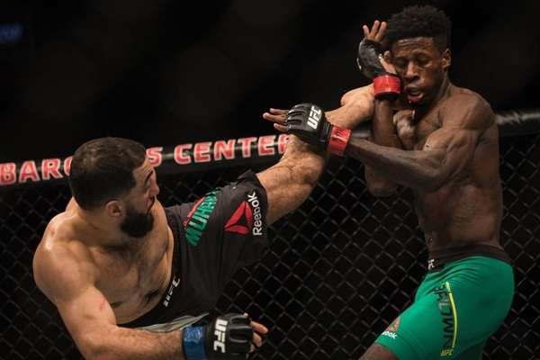 Welterweight Randy Brown lost to Belal Muhammed by