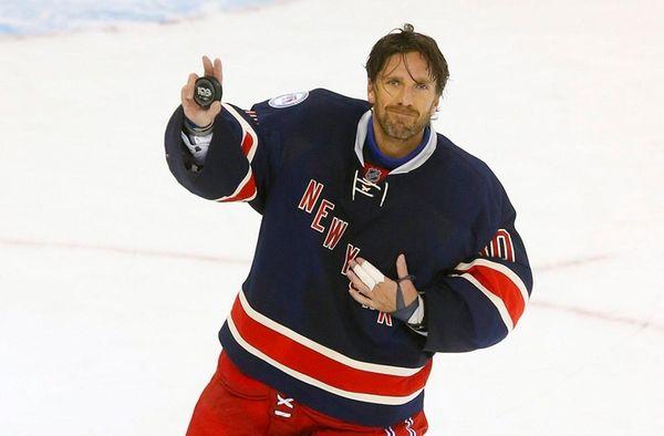 Henrik Lundqvistof the New York Rangers is named