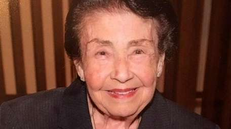 Louise Smith, the matriarch of a large family