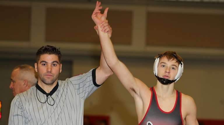 Donald Wood of Center Moriches defeated Joey Pancetta