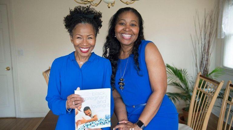 Yvette Allen Campbell, left, and Dr. Suzette Greenidge-Hewitt,